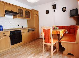 Küche - Ferienwohnung Ahorn